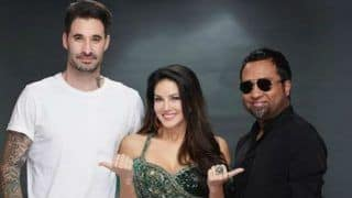 Sunny Leone Looks Hot AF in Green High Slit Lehenga as She Announces New Project 'Lovely Accident' Along With Daniel Weber - See Picture