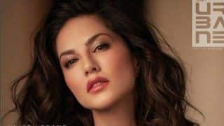 Sunny Leone Looks Spicy Hot in Shiny Shirt and Glossy Lipstick in Latest Magazine's Cover - See Picture