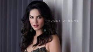 Sunny Leone Looks Spicy Hot in Shimmery Short Dress And Bold Lips in Latest Magazine Cover - See Pictures