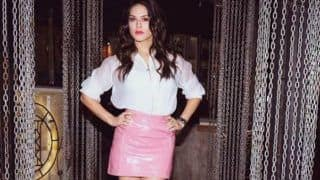 Splitsvilla 11 Host Sunny Leone Looks Super Hot in Sheer White Top And Pink Skirt - See Picture