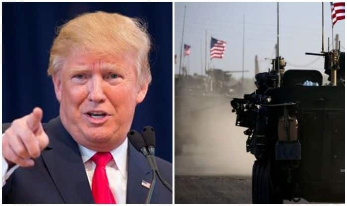 सीरिया से अमेरिकी सैनिकों की वापसी: बोले ट्रंप- 'मैंने कभी नहीं कहा कि मैं कल यह कर रहा हूं'