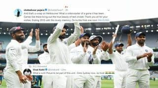 India vs Australia 3rd Test: Virat Kohli, Cheteshawar Pujara To Mayank Agarwal, Rohit Sharma How Team India Reacted On Twitter After India Beat Australia By 137 Runs At MCG