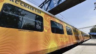 IRCTC's Mumbai-Ahmedabad Tejas Express to be on Tracks Soon With Luxurious Amenities