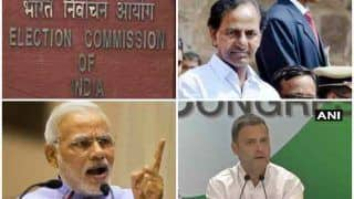 तेलंगाना चुनावः नेताओं के कड़वे बोल पर विराम, प्रचार के शोर का हुआ अंत, अब बस मतदान का इंतजार