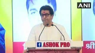 Hindi is Beautiful But Shouldn't be Given The Status of National Language,Says MNS Chief Raj Thackeray