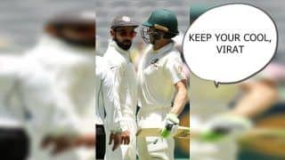 2nd Australia vs India Perth: Virat Kohli Continuously Sledges Australian Captain Tim Paine, Michael Hussey, Allan Border Slam Indian Captain | WATCH