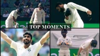 India vs Australia 3rd Test: Virat Kohli's W*****r Doff Response, Tim Paine-Rishabh Pant Sledge to Rohit Sharma's MI Offer, Jasprit Bumrah-Pat Cummins Show, Five Top Moments From MCG Win| WATCH