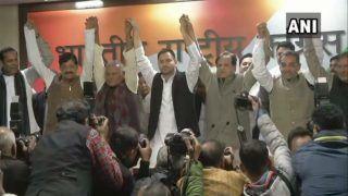 Loyalty Shift: Days After Quitting NDA, Upendra Kushwaha Joins Opposition's 'Mahagathbandhan' in Bihar