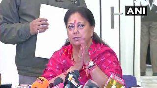 वसुंधरा राजे ने मुख्यमंत्री पद से इस्तीफा देने के बाद कही ये बात, ऐसा रहा उनका सियासी सफर