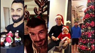 Merry Christmas 2018: Virat Kohli, Rohit Sharma, David Beckham, Cristiano Ronaldo, Sporting Fraternity Spreads Love And Joy On Social Media