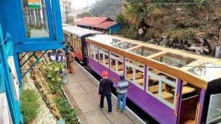 Glass-Enclosed Vistadome Coach to Run In Kalka-Shimla Route In The Next 10 Days