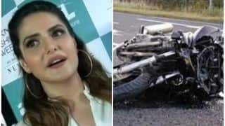 गोवा: बॉलीवुड अभिनेत्री ज़रीन खान की कार से टकराया बाइक सवार, मौत