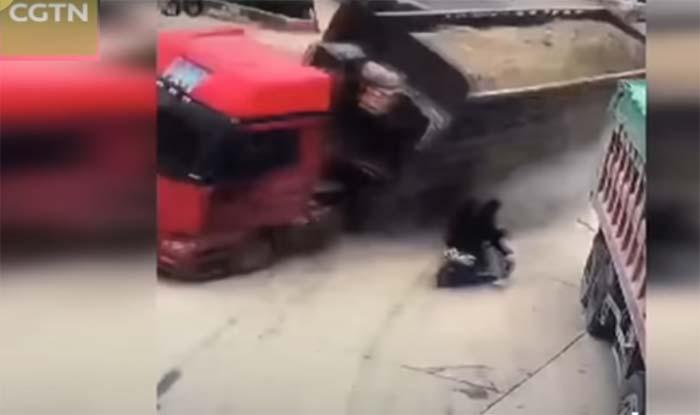 भयावह पलों का ये VIDEO वायरल हुआ, इतने करीब आकर मौत गुजर गई