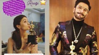 Star Screen Awards 2018 Winners List: Ranveer Singh, Alia Bhatt, Ayushmann Khurrana Win For Padmaavat, Raazi And Andhadhun