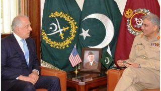 अफगानिस्तान: अमेरिका के विशेष शांतिदूत की पाकिस्तान के सेना प्रमुख से मुलाकात