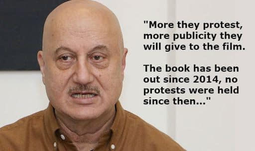 Anupam Kher Reacts to Congress' Protest Over The Trailer of The Accidental Prime Minister, Watch Video