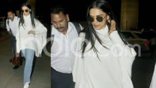 Deepika Padukone Wears an Over-Sized White Sweater at Airport And That's Her Most Relaxed Appearance Since Wedding, See Photos