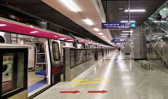 दिल्ली मेट्रो देगा New Year Gift, 12 मिनट में तय होगा लाजपत नगर से मयूर विहार का सफर