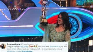 Bigg Boss 12 Winner: Dipika Kakar Jumps With Joy as She Gets to Take Home The Winner's Trophy, Twitterati Share Mixed Reactions