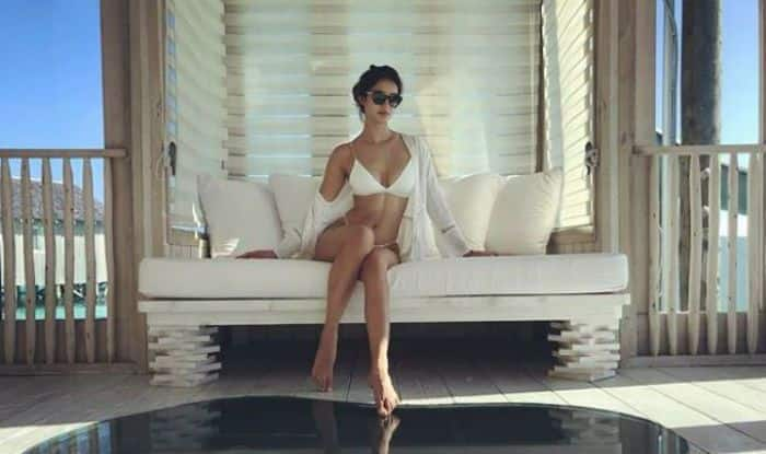 Disha Patani Sets Temperatures Soaring in This Sexy White Swimwear – See Pic