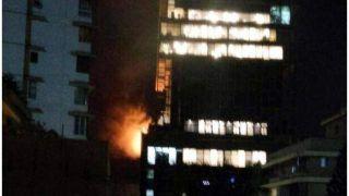दक्षिण मुंबई की बहुमंजिला इमारत में लगी आग, एक बुजुर्ग महिला की मौत, 19 लोग घायल
