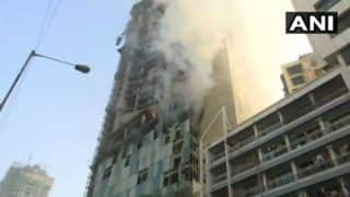 Mumbai: Fire Breaks Out at Under-Construction Building Near Kamala Mills Compound, 5 Fire Tenders on Spot