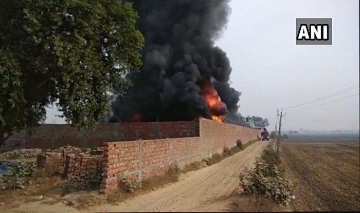 Punjab: Major Fire Breaks Out in Foam Factory in Barnala; no Casualty Reported