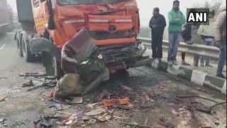 Haryana: 8 Killed, 10 Injured After 50 Vehicles Pile up on Rohtak-Rewari Highway Due to Fog