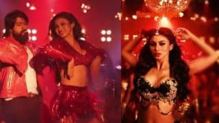 KGF's Dance Number Gali Gali Featuring Mouni Roy's Sexy Dance Moves Clocks Over 51 Million Views on YouTube - Watch