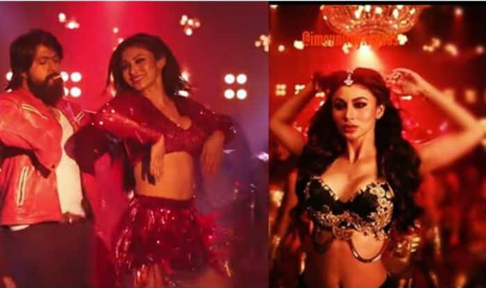 KGF's Dance Number Gali Gali Featuring Mouni Roy's Sexy Dance Moves
