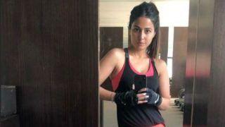 Hina Khan ने शेयर की बेहद हॉट Gym फोटोज, देख हो जाएंगे फैन...