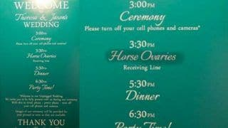 Wedding Invitation Card Goes Viral For One Hilarious Auto-Correct Mistake, Find it Yourself