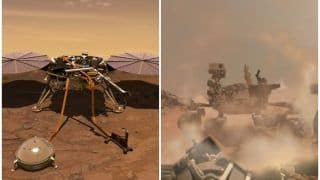 नासा को मिली बड़ी कामयाबी, रोबोटिक 'InSight' की मंगल ग्रह पर सफल लैंडिंग