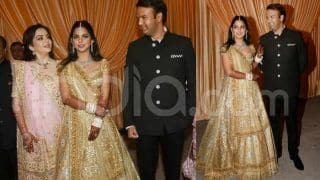 Isha Ambani's Golden Lehenga at Her Wedding Reception Had Something Special About it; See Pictures