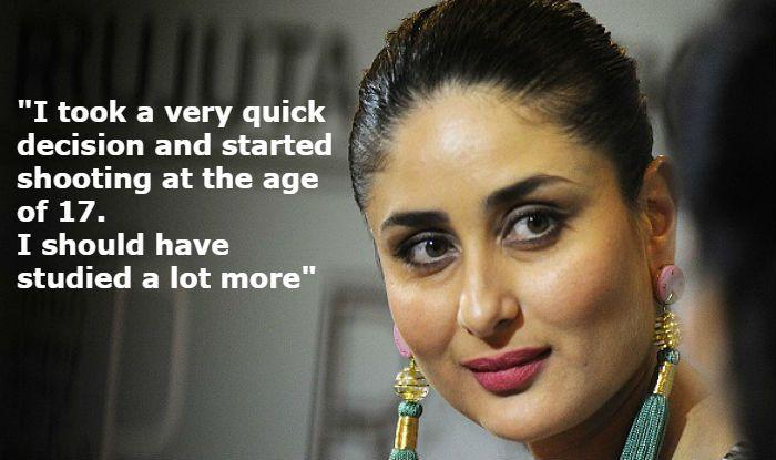 Kareena Kapoor Khan Regrets Not 'Studying a Lot', Says Taimur Ali Khan Will Finish His Education Before Opting For Career