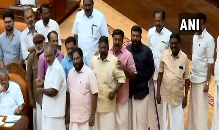 Sabarimala Row: Kerala Assembly Adjourned For 4th Consecutive Day After Massive Uproar by Opposition