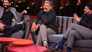 Koffee With Karan 6: It's a Baahubali Reunion as The Show Hosts Prabhas, SS Rajamouli And Rana Daggubati on The Couch