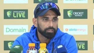 Australia vs India, 2nd Test Perth: 'There Should Have Been a Spinner', Says  Mohammed Shami