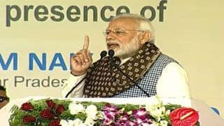 Modi in Uttar Pradesh Live News Updates: PM Hits Back at Congress Over Rahul Gandhi's 'Chowkidar Chor Hai' Jibe