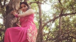 Bhojpuri Hottie And Nazar Fame Monalisa Looks Dangerously Sexy in Pink Suit as She Performs Stunts For Nazar– Watch Video