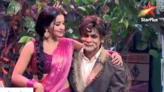 Bhojpuri Hotshot And Nazar Fame Monalisa Shakes a Leg With Sunil Grover at Kanpur Waale Khuranas, Watch Video