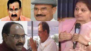 एमपी में शिवराज सरकार के 12 मंत्री पीछे, कांग्रेस नेता अजय सिंह भी पिछड़े