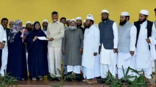 Triple Talaq Ordinance: AIMPLB Members Meet Chandrababu Naidu to Thwart Passage in Parliament