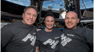 अंतराष्ट्रीय अंतरिक्ष स्टेशन में गुजारे 197 दिन, तीन अंतरिक्ष यात्रियों की सकुशल वापसी