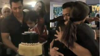 Salman Khan's Birthday Celebration: The Actor Cuts Cake With Ahil, Sets The Dance Floor on Fire With Sushmita Sen, Watch