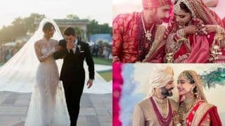Year-Ender 2018: Deepika Padukone, Sonam Kapoor, Priyanka Chopra, Here's a List of Celeb Brides 2018 Who Left Everyone Spellbound With Their Wedding Looks