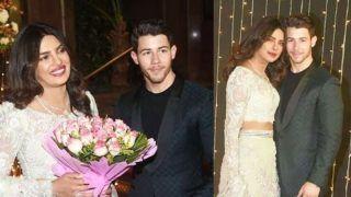 Priyanka Chopra-Nick Jonas Mumbai Reception First Look Out: PeeCee Keeps it Simple Yet Stylish in Mint-Green Lehenga by Abu Jani-Sandeep Khosla