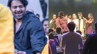 Prabhas Dances His Heart Out at The Sangeet Ceremony of SS Rajamouli's Son Karthikeya, Watch