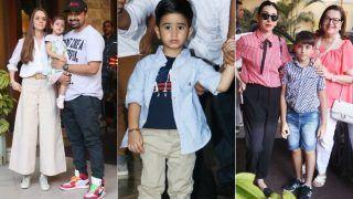 Kareena Kapoor Khan And Saif Ali Khan Host Taimur Ali Khan's Birthday Bash 13 Days Before His Actual Birthday; Inaaya Naumi Kemmu, Nisha Kaur Weber, AbRam Khan Attend