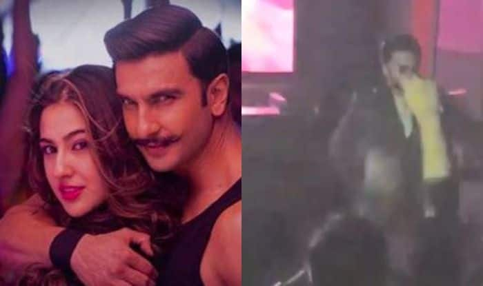 Simmba: Ranveer Singh Leaves Everything And Dances to Aankh Maarey at Special Screening of The Movie, Watch